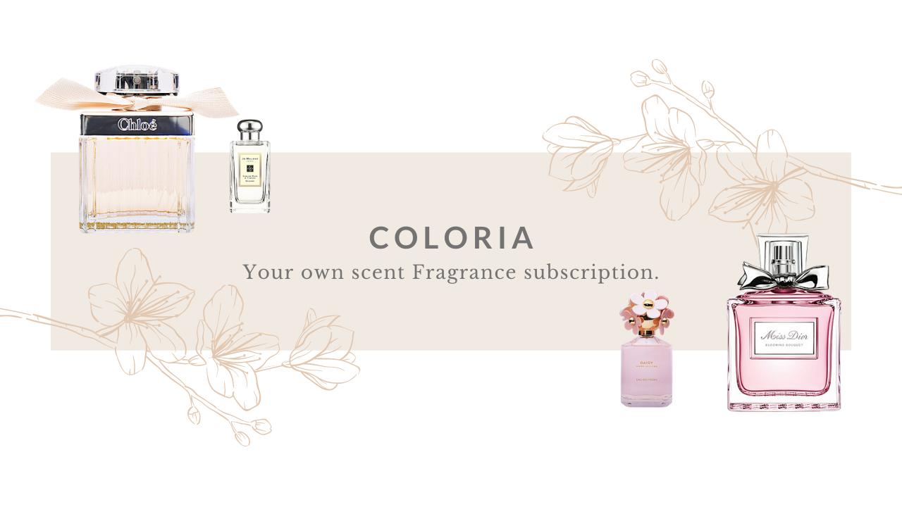 香水のサブスク!COLORIA(カラリア)がすごい!高級ブランドの香水が1980円!?